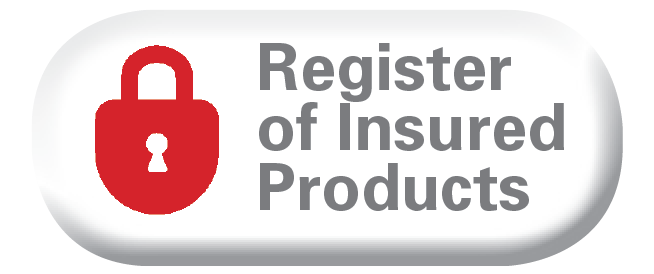More information about the Register of Insured products.